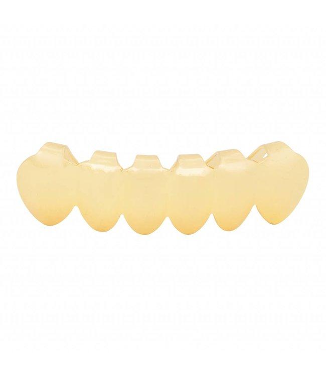 GrillzShop Grillz tanden - onderkant - Goud - zelf op maat te maken