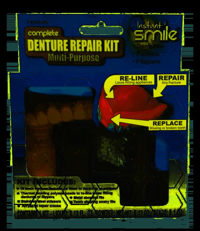 GrillzShop Kunstgebit reparatie set InstantSmile