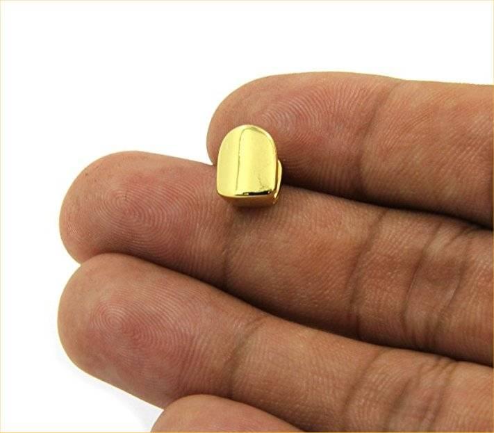 Ongekend Gouden voortand - gouden tand - 10mm - zelf op maat te maken IF-58