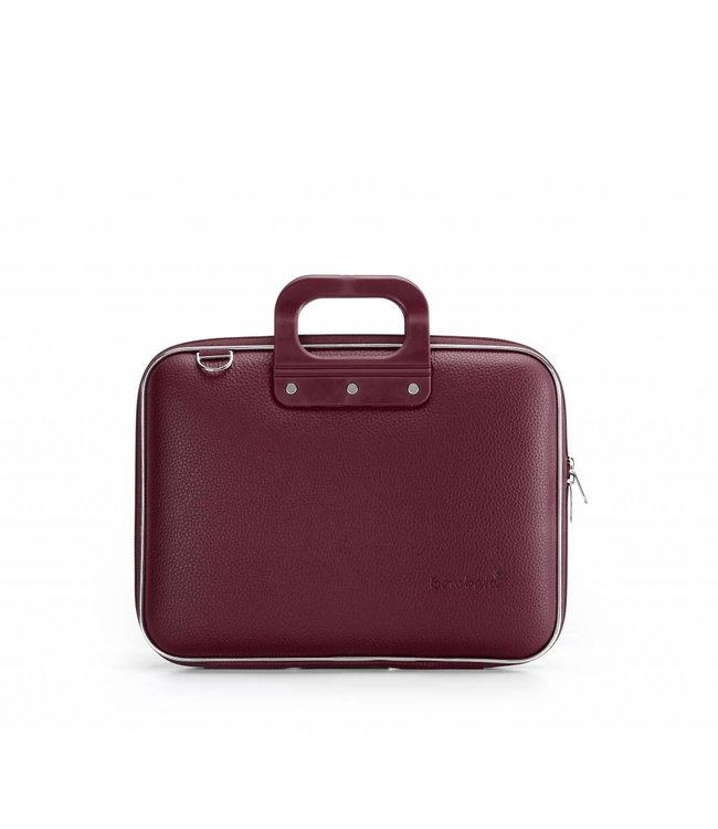 Bombata Medio Laptoptas 13 inch Burgundy