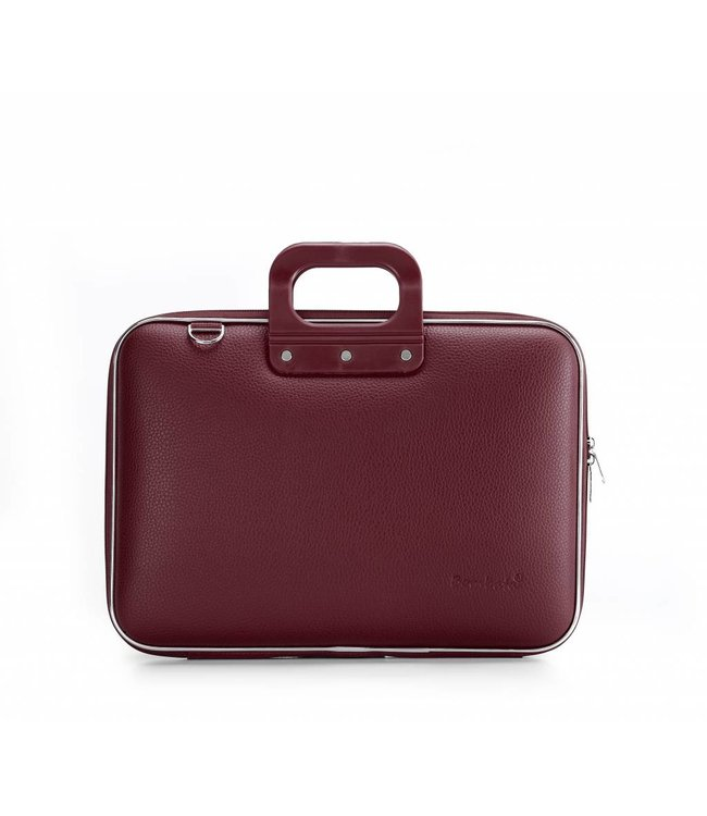 Bombata Classic Laptoptas 15,6 inch Burgundy