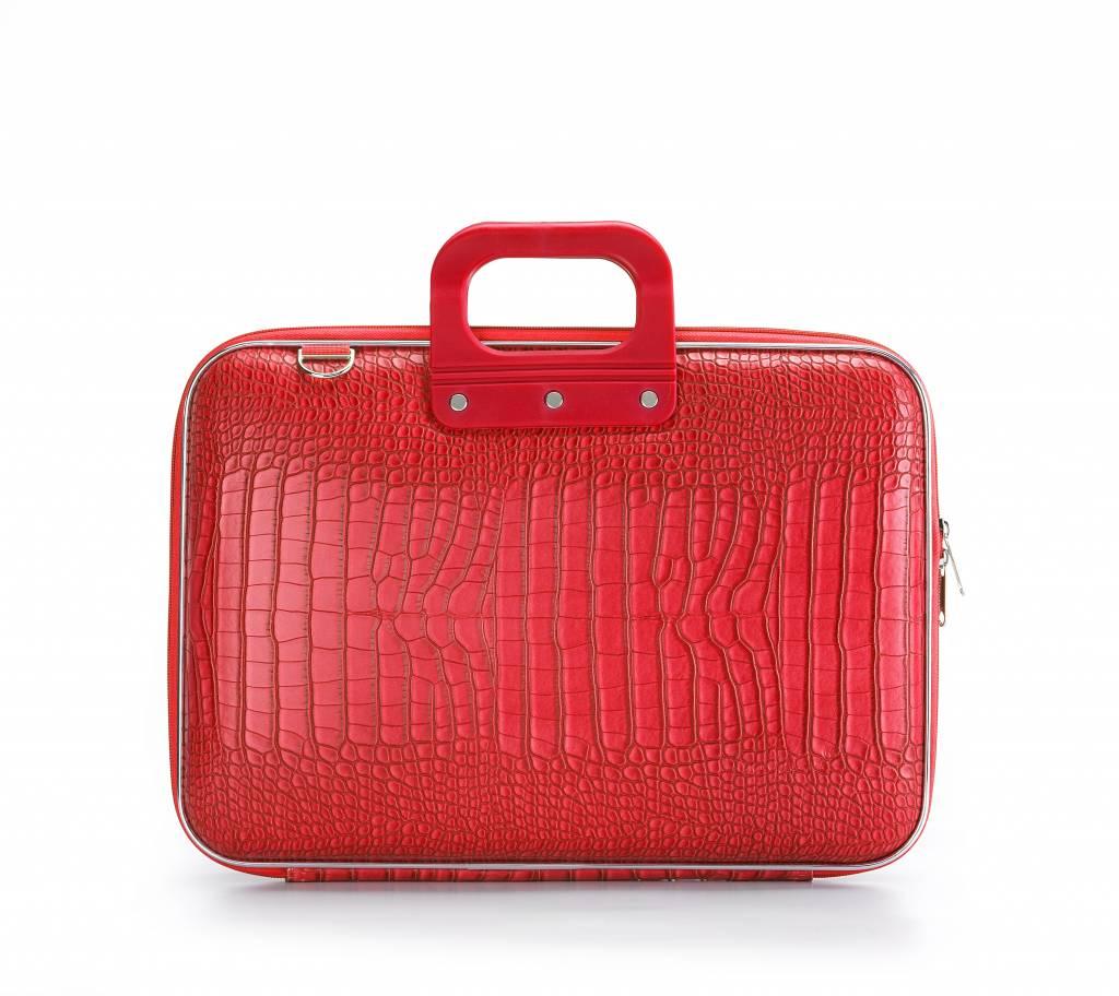 Bombata cocco laptoptas 15,6 inch helder roodomschrijving:weg met die saaie laptoptassen, bombata ...