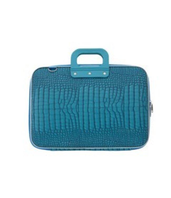 Bombata Cocco Laptoptas 15,6 Inch - Turquoise Mat