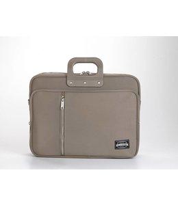 Bombata 24 GABARDINA Laptoptas 15,6 inch - Taupe ***Uitlopende kleur***