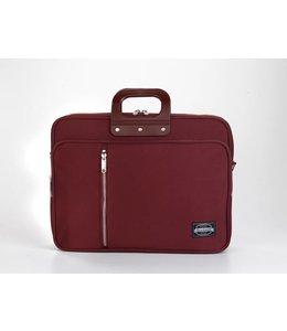 Bombata 24 GABARDINA Laptoptas 15,6 inch - Burgundy ***Uitlopende model***