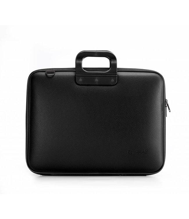 Bombata Maxi Laptoptas 17,3 inch All Black - Zwart