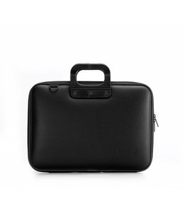 Bombata Classic Laptoptas 15,6 inch All Black - Zwart