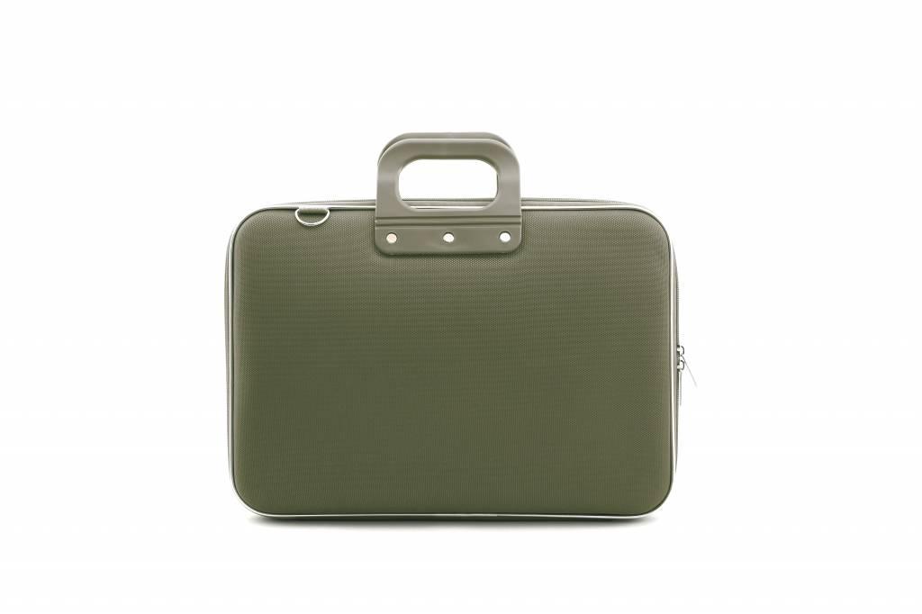 Nylon Laptoptas 15,6 Inch Groen