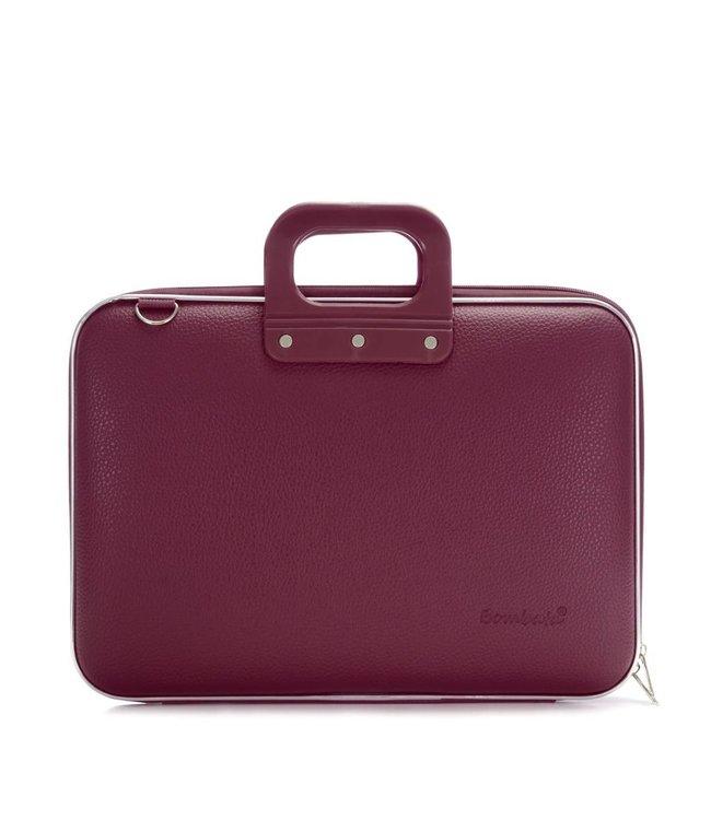 Bombata Classic Laptoptas 15,6 inch - Pruim/Paars