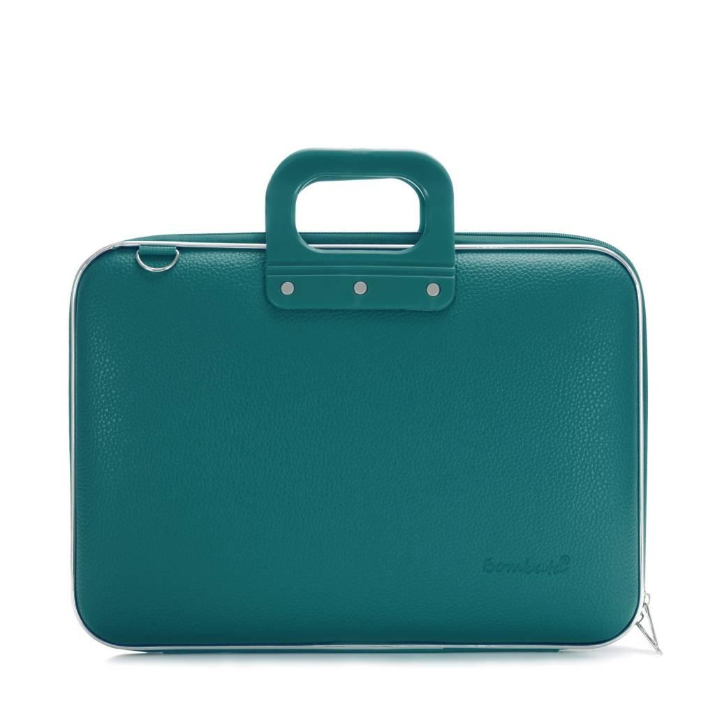 Classic Laptoptas 15,6 inch Groen/Blauw