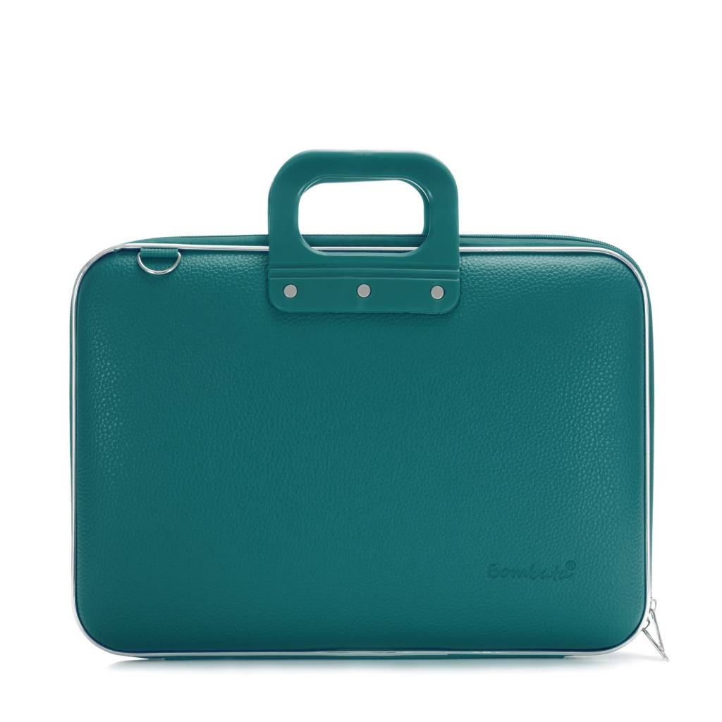 Maxi Laptoptas 17,3 Inch Blauw/Groen