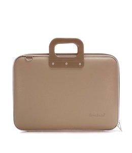 Bombata Maxi Laptoptas 17,3 inch - Grijs/Bruin