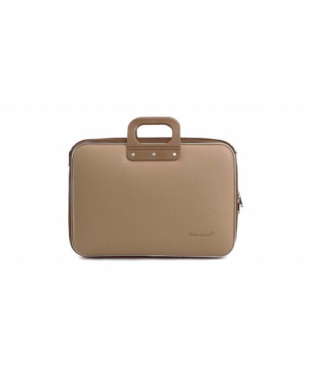 Bombata Business Laptoptas 15,6 inch Grijs/Bruin