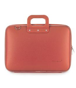 Bombata Classic Laptoptas 15,6 inch Koraal - Rood