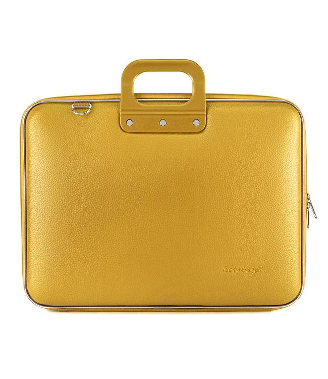 Bombata Maxi Laptoptas 17,3 inch Saffraan - Geel