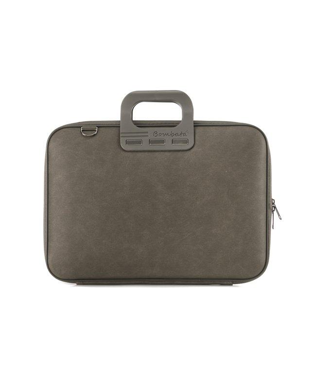 Bombata Denim Laptoptas 15,6 inch - Bruin