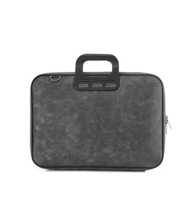 Bombata Denim Laptoptas 15,6 inch - Zwart