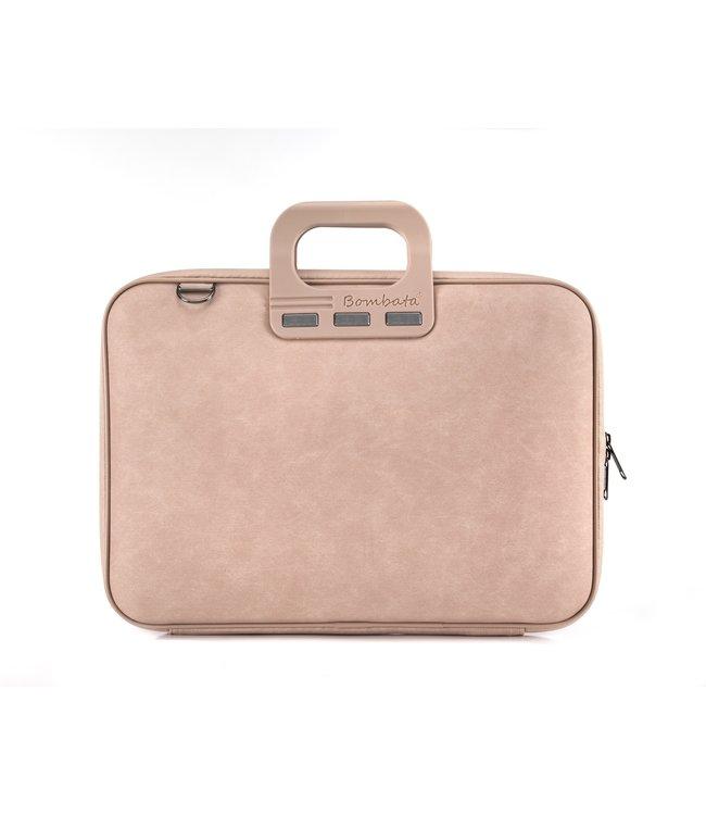 Bombata Denim Laptoptas 15,6 inch - Roze