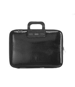 Bombata Shiny cocco Laptoptas 15,6 inch - Black