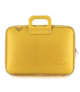Bombata Classic Laptoptas 15,6 inch Saffraan - Geel