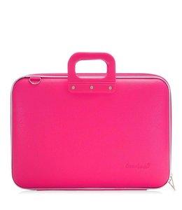 Bombata Maxi Laptoptas 17,3 Inch - Donker Roze ***Uitlopende kleur***