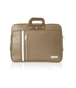 Bombata 24H CLUB Laptoptas 15,6 inch - Taupe ***Uitlopende kleur***