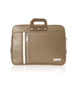 Bombata 24H CLUB Laptoptas 15,6 inch Taupe
