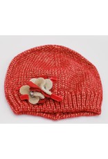 Red cap with Flower - Complit