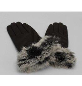 Donkerbruin fur