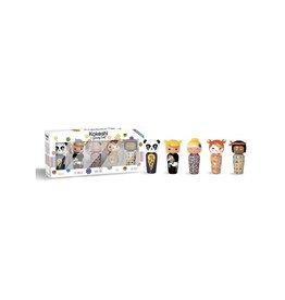 Kokeshi Gift Set Kokeshi Mini's