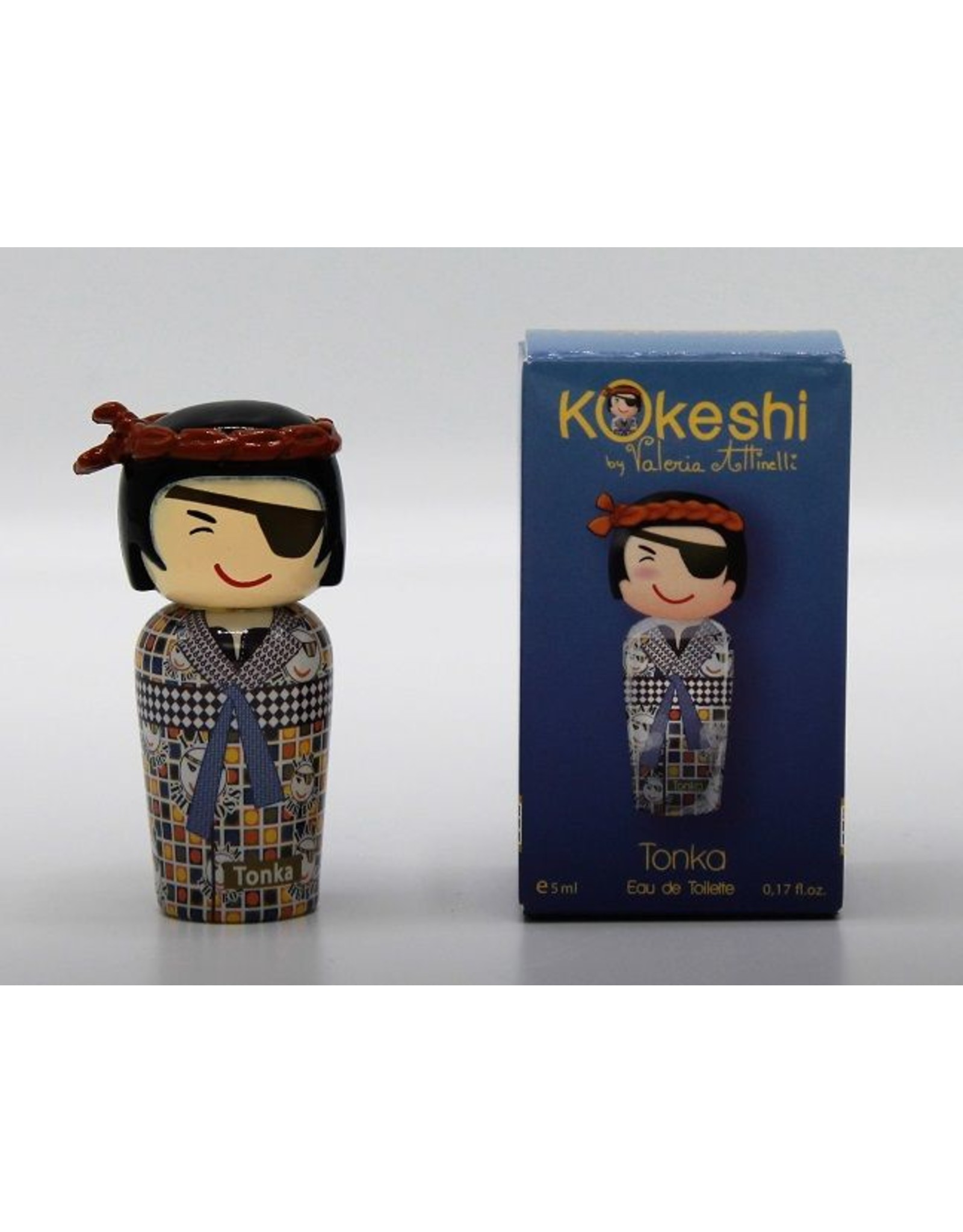 Kokeshi Tonka MINI - Kokeshi by Valeria Attinelli - Eau De Toilette 5 ml