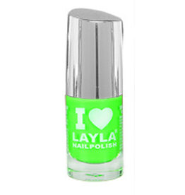 Layla Cosmetics Light Green Fluo