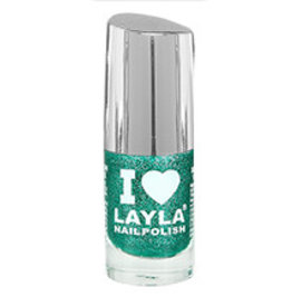 Layla Cosmetics Glitty Green