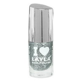Layla Cosmetics Glitty Silvery