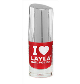 Layla Cosmetics Red Vampy
