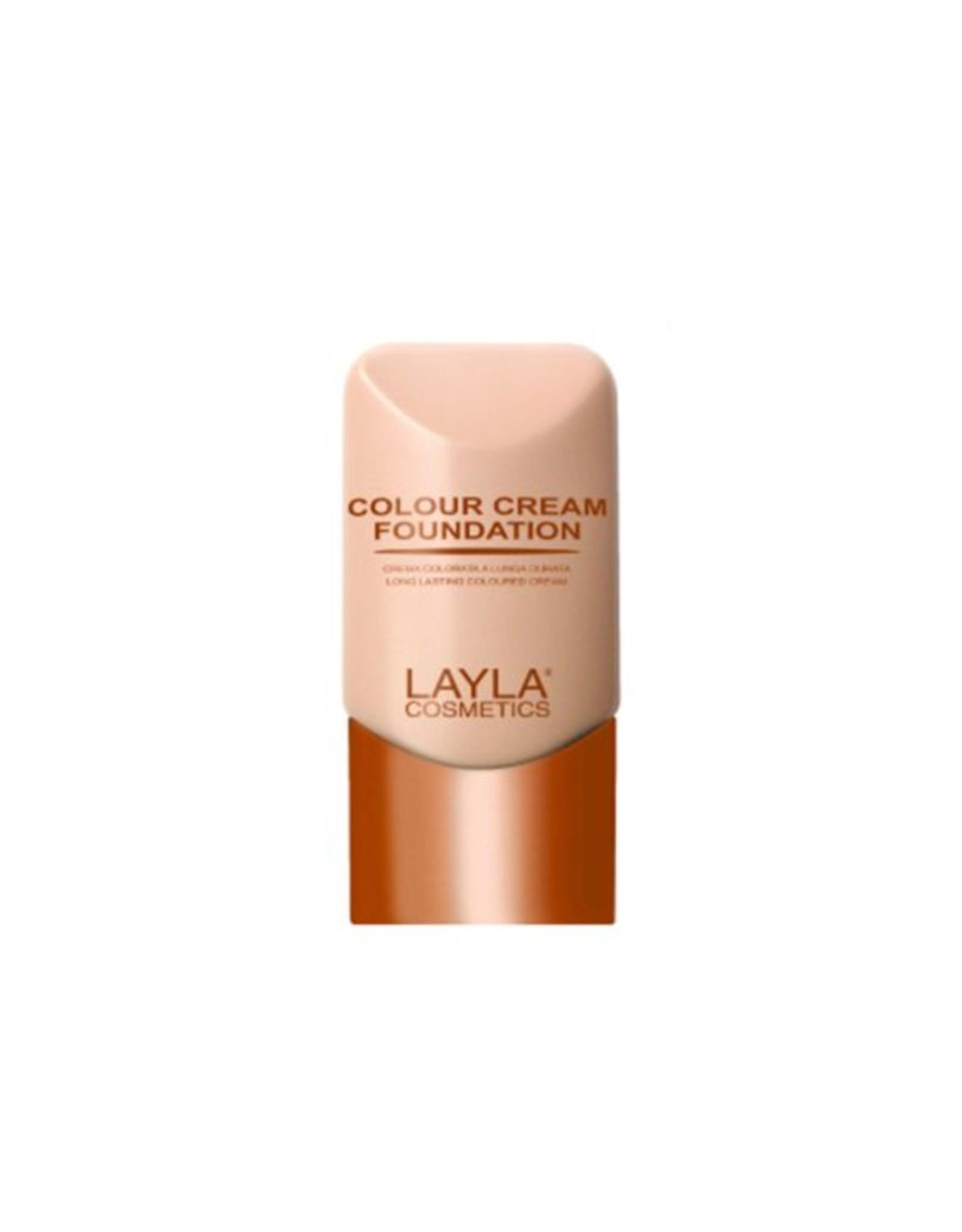 Layla Cosmetics Color Cream Foundation N°3 - Layla Cosmetics