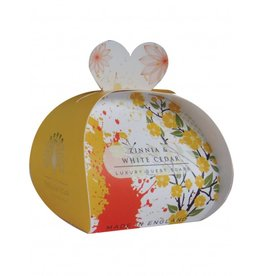 The English Soap Company Zinnia & White Cedar
