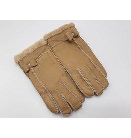 Beige gloves