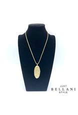 Just Bellani Style Ketting White & Gold - Just Bellani Style