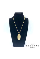 Just Bellani Style Necklace White & Gold - Just Bellani Style