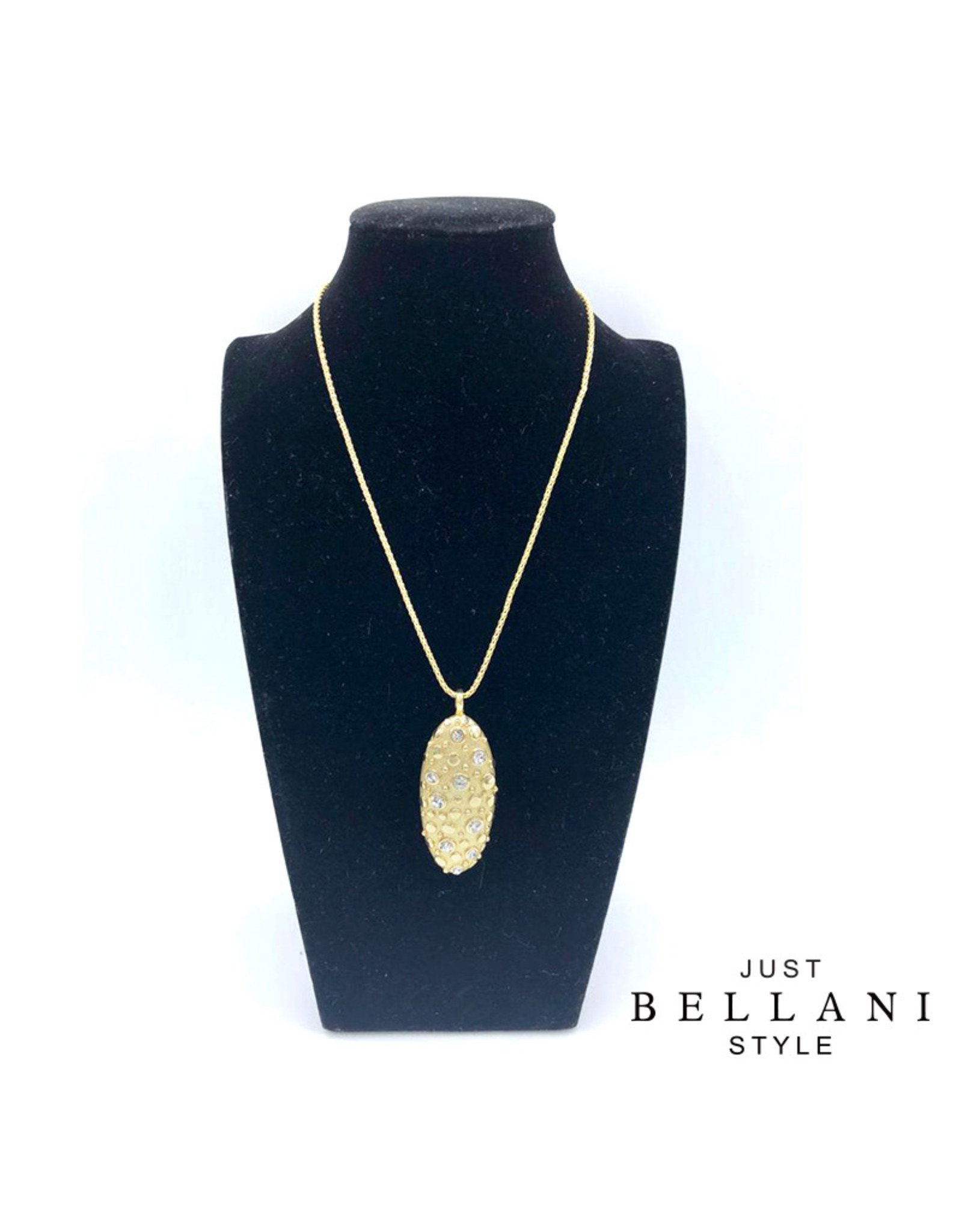 Just Bellani Style Collier White & Gold - Just Bellani Style
