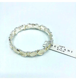 Just Bellani Style Mama's Silver Bracelet
