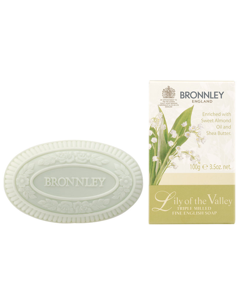 Bronnley Lily of the Valley - Bronnley - soap 100 gr.