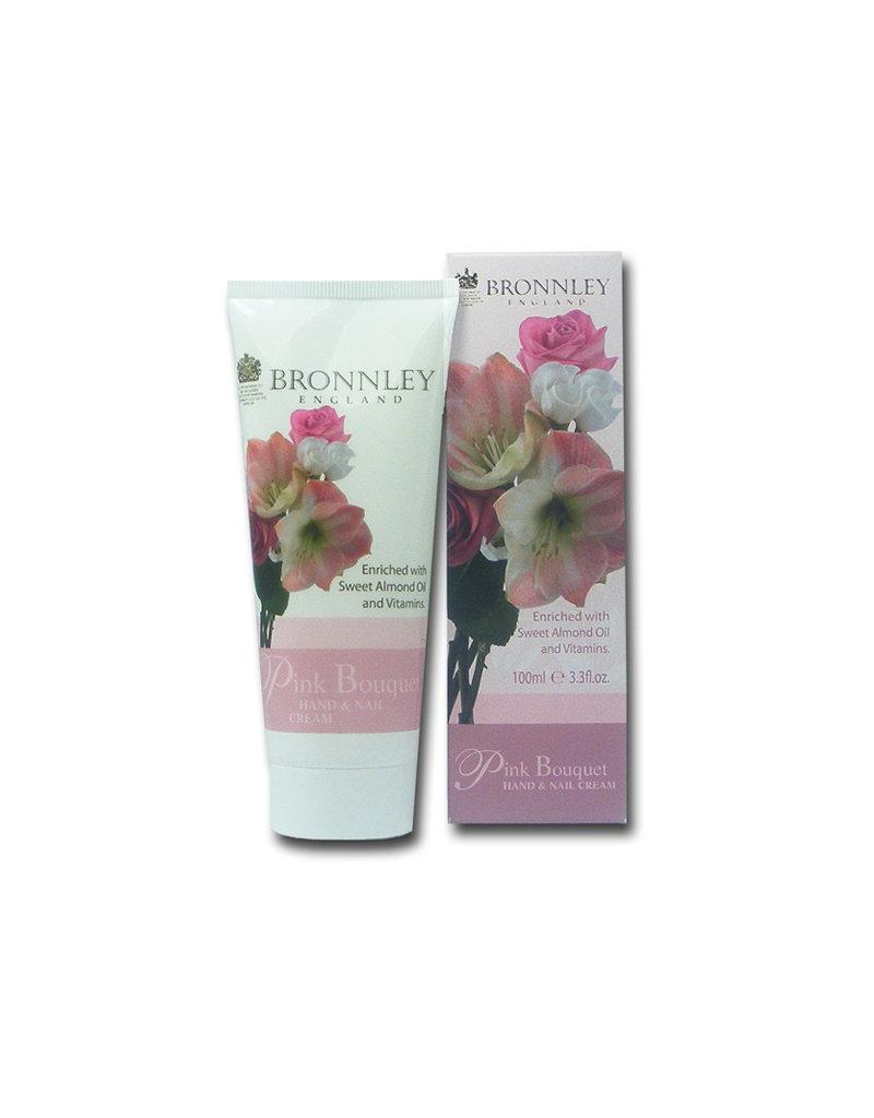 Bronnley Hand & Nail Cream Pink Bouquet - Bronnley