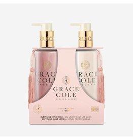 Grace Cole Coffret Soin des mains Duo Vanille Blush & Peony