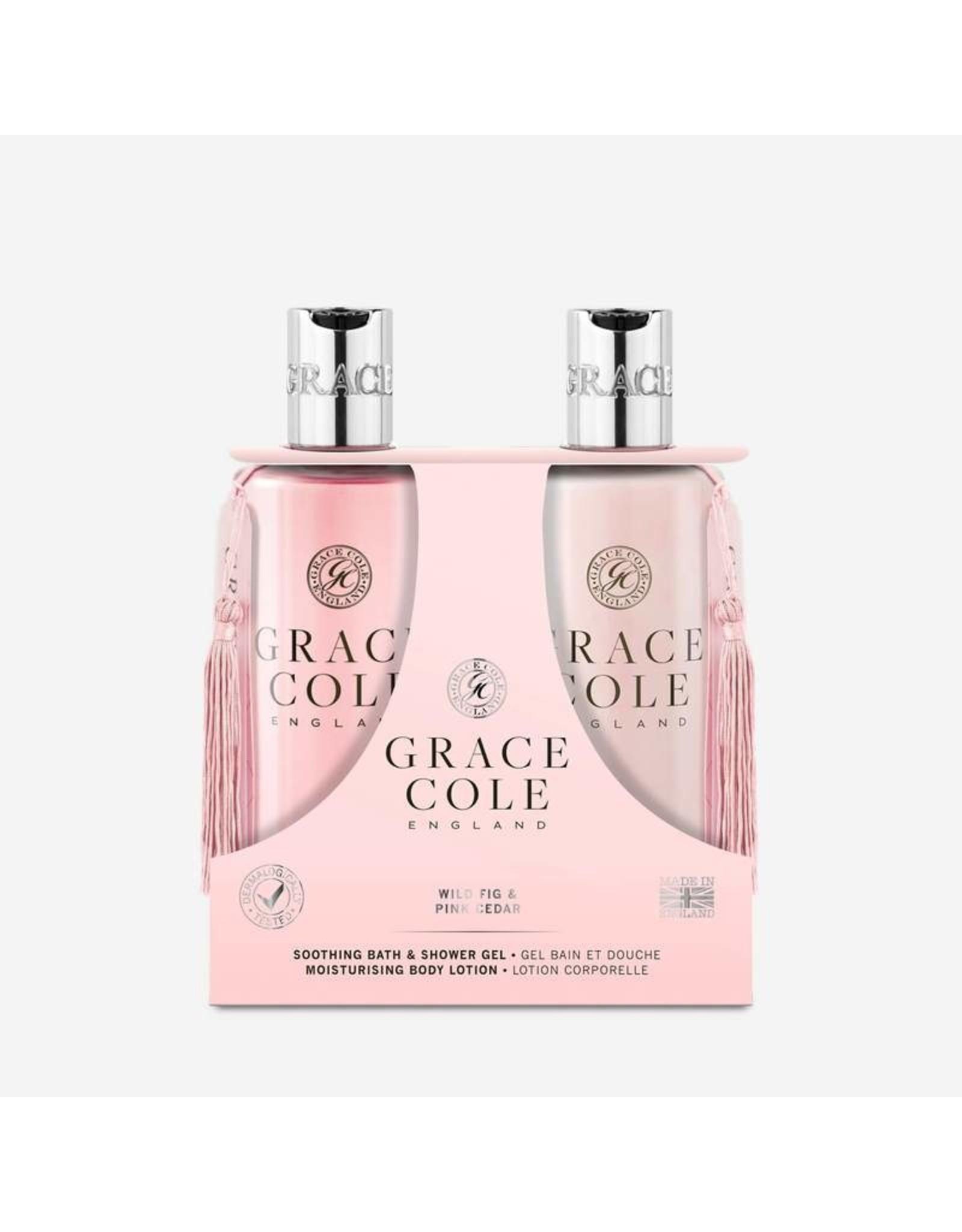 Grace Cole Body Care Set Duo Wild Fig & Pink Cedar