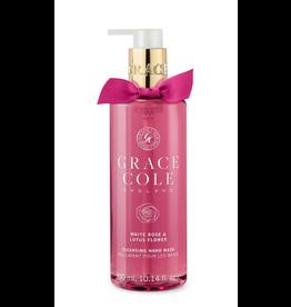 Grace Cole Savon Liquide Mains White Rose & Lotus Flower