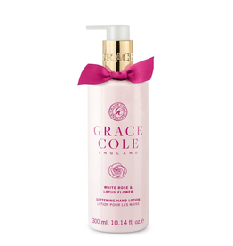Grace Cole Hand Lotion White Rose & Lotus Flower