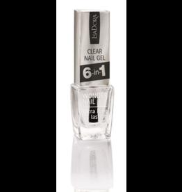 Isadora Clear Nail gel 6-in -1 N° 697