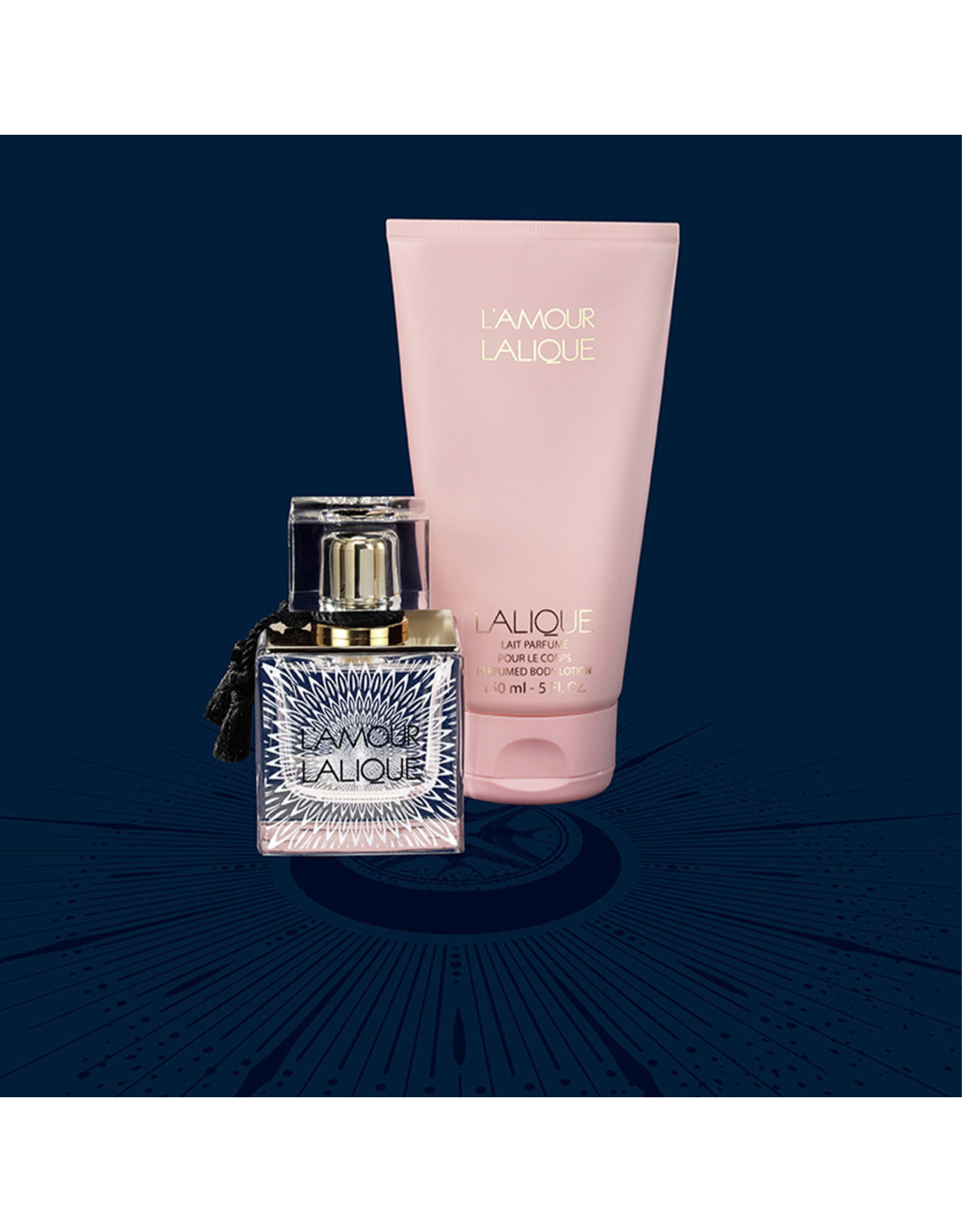 Lalique Gift Set L' Amour by Lalique